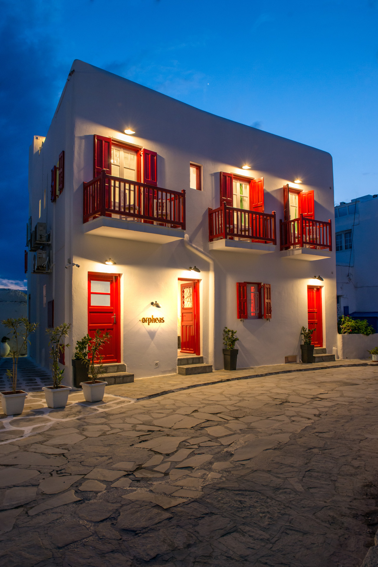 Orpheas Rooms Mykonos